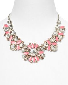 kate spade new york Frosty Floral Short Necklace, 16 from Bloomingdale's on Catalog Spree, my personal digital mall.