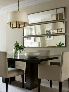 Image result for how to decorate a big, blank dining room wall