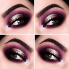 Too Faced Chocolate Gold Eye Makeup - Instagram @misslilith
