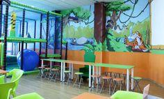 Ideas de #Contract de #Sala de juegos, estilo #Tropical diseñado por Fraile+Jordán. Arquitectos Arquitecto con #Niños  #CajonDeIdeas