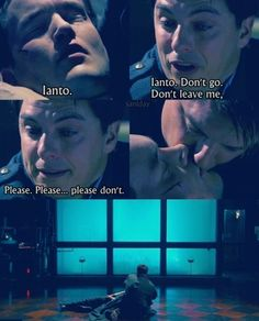 Ianto Jones: Don't forget me.  Captain Jack Harkness: Never could.  Ianto Jones: A thousand years time? You won't remember me.  Captain Jack Harkness: Yes I will. I promise. I will.