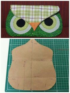 Owl purse pattern.