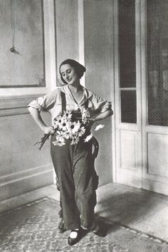 Anna Pavlova on holiday in Salsomaggiore. c. 1920s