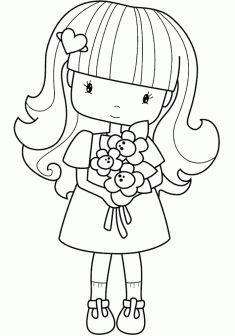 Kiz Boyama Sayfasi Girls Coloring Pages Chicas Para Colorear Devushki Boyama Chicas Colorear Coloring Gi Boyama Sayfalari Boyama Kitaplari Desenler