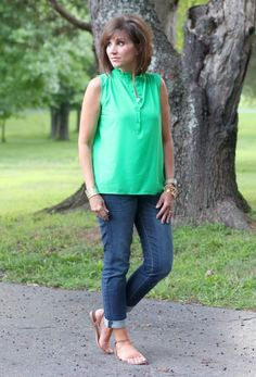 Summer Fashion+Simple Summer Skin Tips #summerfashion #stitchfix #fashionforwomenover40