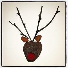 Reindeer sea glass card Sea Glass, Reindeer, Christmas Ornaments, Holiday Decor, Beach, Cards, Xmas Ornaments, The Beach, Christmas Jewelry