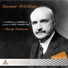 Si algo puede ser imaginado, entonces puede ser construido. #DisplayArt #SomosArtistas