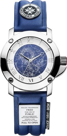 Doctor Who watch. I'd wear this every single day if it were mine.