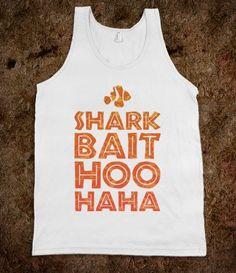 Shark Bait Hoo Haha - Fashionista - Skreened T-shirts, Organic Shirts, Hoodies, Kids Tees, Baby One-Pieces and Tote Bags