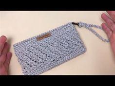 De Croche De Croche barbante De Croche com grafico De Croche de mao De Croche festa - Bolsa De Crochê Crotchet Bags, Knitted Bags, Crochet Bag Tutorials, Crochet Videos, Crochet Clutch, Crochet Handbags, Crochet Basket Pattern, Crochet Patterns, Knifty Knitter