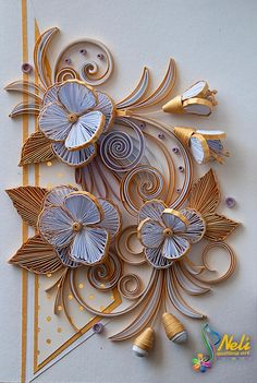QUILLING BY NELI!                                                                                                                                                      More