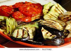 Grilled vegetables, I love the italian cuisine