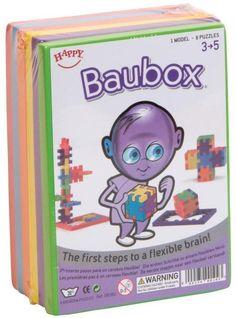 Sechs einfache Schaumstoff-Puzzles für Kindergarten- und Vorschulkinder von 3 - 5 Jahren im Set. Jede Puzzleplatte hat eine andere Farbe. Das erleichtert den Kleinen das Zusammenbauen eines Happy Cubes visuell. Abmessungen (in mm): 150x110x60