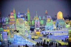 Harbin 30th Ice sculpture festival