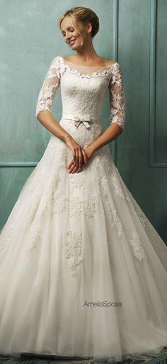 vestido de novia por Amelia Sposa, bridal dress by Amelia Sposa