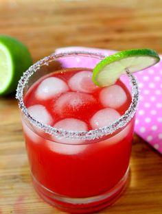 Three-Ingredient Pomegranate Margarita