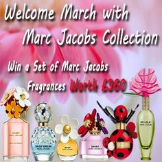 Enter this fab Marc Jacobs collection competition ,#good luck all !!!!!!