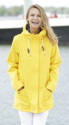 Hatley's yellow field jacket #hatley #yellow #rainjacket