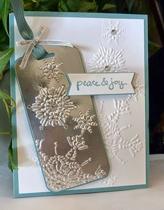 Stampin Along With Heidi: SCCC32 -- Peace & Joy