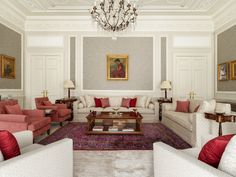 Home to an inspiring, international family this exceptional house reflects a life-well travelled and well-lived. Bedroom Red, House Design, Couch, Interior Design, Projects, Decor Ideas, Interiors, Furniture, Home Decor