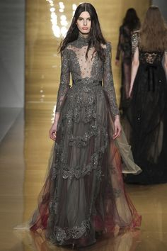 See the autumn/winter 2015 Reem Acra collection