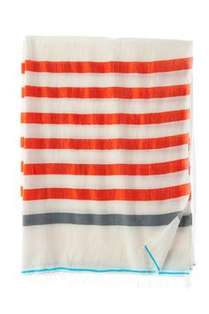 stripe scarf - could be nice as a crochet pillow or blanket