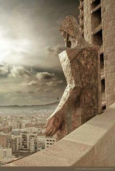 La Sagrada Família. Barcelona. Catalunya