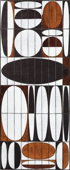 thatsbutterbaby: Roger Capron - Tile top coffee table