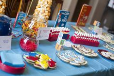 Stay at Home Mama: Evan's 1st Birthday: Part 2 (Dr. Seuss Food)