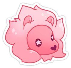 """Steven Universe- Lion"" Stickers by yokokins | Redbubble"