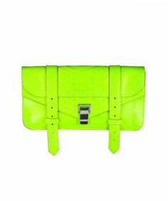 Proenza Schouler PS1 Python Pochette, would love this for this spring/summer...