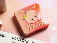 Too Faced sweet peach collection blusher. Papa don't peach!