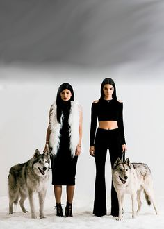 Kendall Jenner and Kylie Jenner