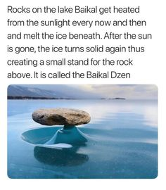 These rocks create beautiful natural ice formations More memes, funny videos and pics on Beautiful Places To Travel, Cool Places To Visit, Places To Go, The More You Know, Did You Know, Cool Pictures, Cool Photos, Nature Pictures, Photo Hacks
