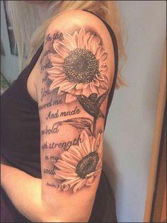 My Beautiful Tattoos On Shoulder Beautiful Sunflower Tattoo ...