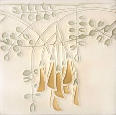 Flora in Grey, Motawi Tileworks