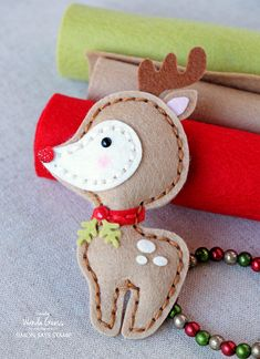 Simon Says Stamp PLUSH DEER Wafer Dies S388 STAMPtember Preview Image