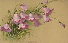 Винтажные постовые открытки Катарины Клейн (Catharina Klein). Картинки для декупажа / Статьи