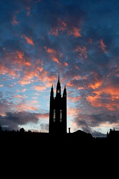 The Mitchell Tower at sunset, Marischal College, Aberdeen The Beautiful Country, Beautiful Places, Scotland Travel, Aberdeen Scotland, England Ireland, Adventure Awaits, Great Britain, Edinburgh, Art Images