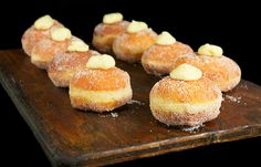 pastry cream, cream doughnuts, filled doughnuts, filled donuts