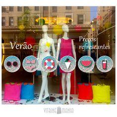 Vitrine Mania Adesivos de Vitrine Verão Vitrine Mania Adesivos de Vitrine. www.vitrinemania.com.br #vitrine #adesivodevitrine #visualmerchandising