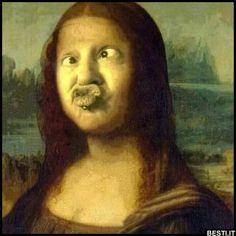 25 Funny Monday Memes to Start Your Week Right - 25 Funny Mon . - 25 funny Monday memes to start your week right – 25 funny Monday memes to start … – 25 funny - 9gag Funny, Funny Monday Memes, Monday Humor, Funny Art, Haha Funny, Funny Memes, Lisa Gherardini, Mona Lisa Parody, La Madone