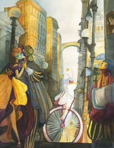 Carnivale - illustration by Alina Chau