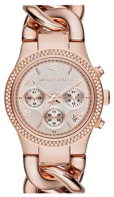 Michael Kors. I need this watch in my life! Rose gold is my absolute favorite.
