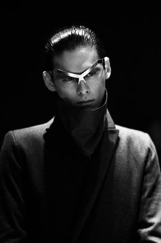 If Yohan's invention worked, his nose would be straight again--and he'd have his own line of glassless eyeglasses. ///Y. Project by Yohan Serfaty FW 2013