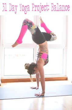31 Day Balance Yoga Project