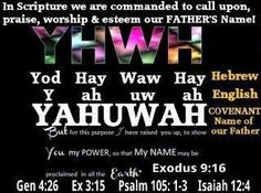 34 Best Yahuwah and Yahushua images in 2016 | Spirit of