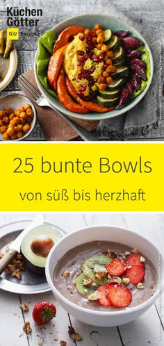 47 Bowls Recipes for Poké Bowls, Buddha Bowls, Smoothie Bowl 47 Bowls Rezepte für Poké Bowls, Buddha Bowls, Smoothie Bowls & Co. Whether as a hearty meal or sweet for breakfast – we have collected the best bowl recipes for you. Poke Bowl, Easy Healthy Recipes, Healthy Snacks, Easy Meals, Healthy Smoothies, Bol Buddha, Smoothie Bol, Snacks Sains, Dessert Bowls