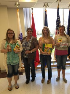 The Medicine Valley FCCLA in Curtis, NE donated items to the Grand Island Veterans Home.