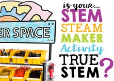 Can you tell a flawed STEM project from a true STEM project? Use this handy checklist as a reference. Start-to-finish instructions. Science Projects For Kids, Stem Projects, Stem Activities, Activities For Kids, Engineering Classes, What Is Stem, Stem Steam, Stem For Kids, Stem Challenges